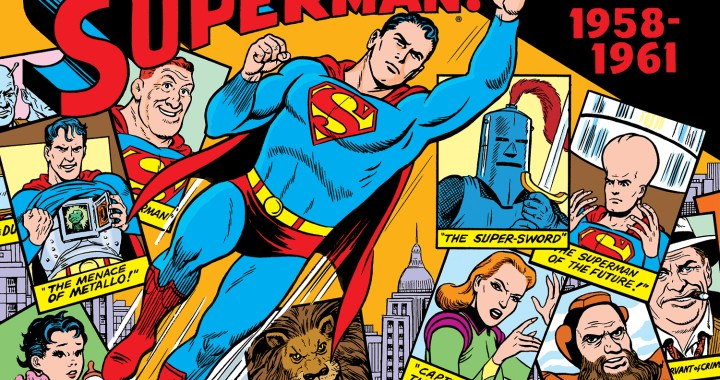 SUPERMAN, BATMAN, and WONDER WOMAN Come to the Library of American Comics