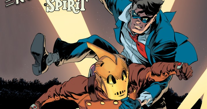 THE ROCKETERS (and IDW) teams up with THE SPIRIT (and DC)