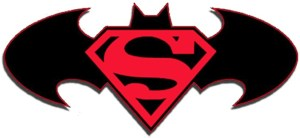 Superman Batman Logo DC