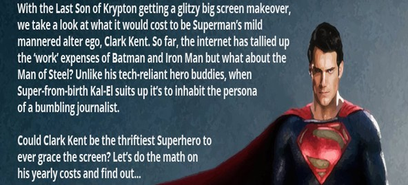 The Cost of Being Clark Kent
