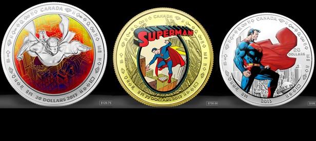 Royal Canadian Mint Celebrates 75 Years of Superman!