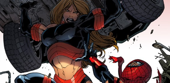 A Lover's Quarrel….To The Death! Your First Look At SUPERIOR SPIDER-MAN #21!
