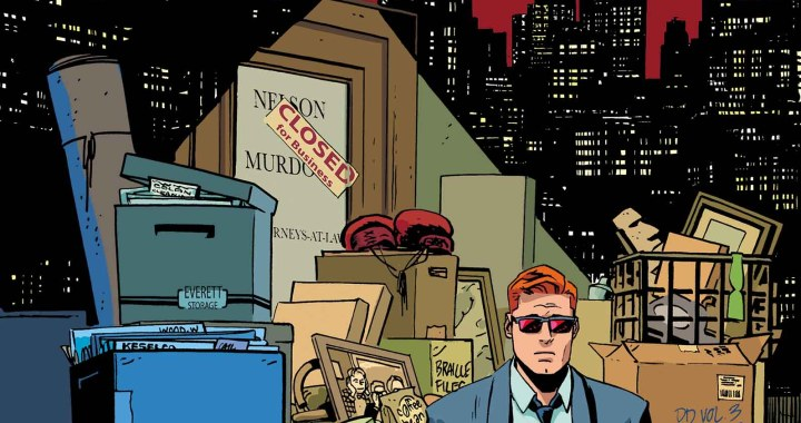 The End? Or the Beginning? Your First Look at DAREDEVIL #36!