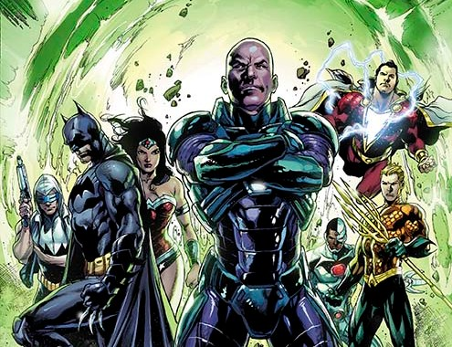 Big post FOREVER EVIL Changes for JUSTICE LEAGUE books
