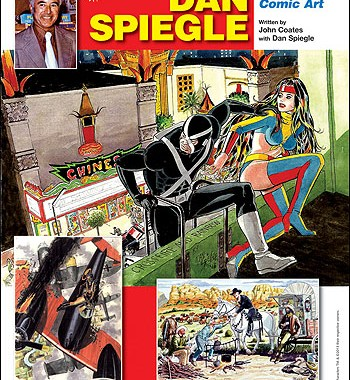 TwoMorrows' warehouse fire leaves their new Dan Spiegle book in short supply