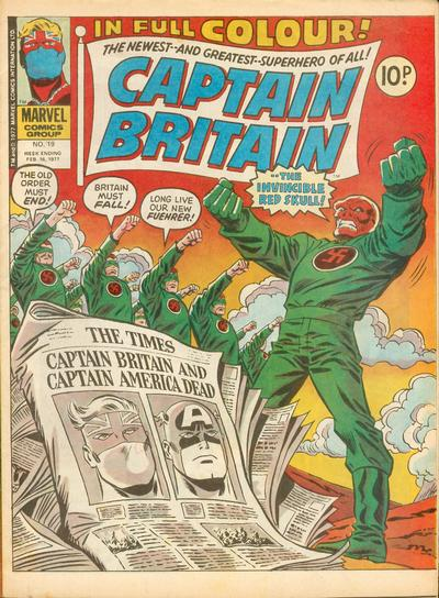 captain britain 19 first lance hunter