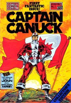 Captain Canuck #1 1975 InvestComics