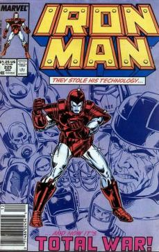 Iron Man #225 InvestComics