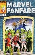 Marvel Fanfare 25 InvestComics
