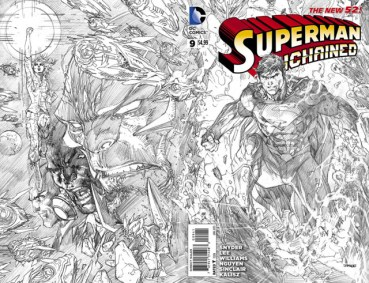 Superman Unchained 9 InvestComics