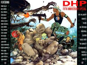 DHP Fifth Anniversary InvestComics