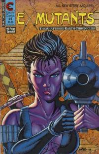 Ex-Mutants The Shattered Earth Chronicles #4 InvestComics