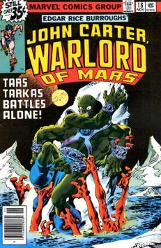 John Carter Warlord of Mars #18 InvestComics