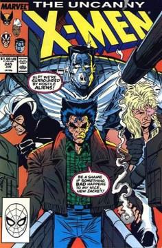 Uncanny X-Men #245 InvestComics