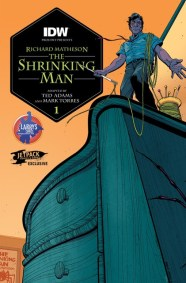 Shrinking Man Larry Comics