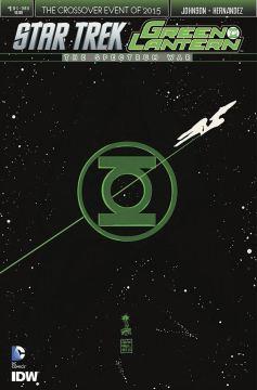 Star Trek Grenn Lantern #1 InvestComics