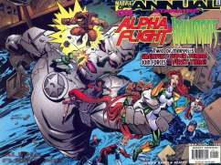 Alpha Flight Inhumans Annual InvestComics