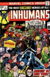 Inhumans 3 InvestComics