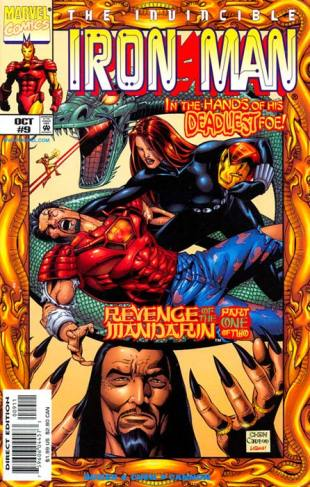 Iron Man 9 InvestComics 1998 Winter Guard
