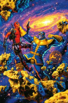 Deadpool vs Thanos 2 InvestComics