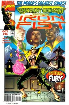 Uncanny Origins Iron Fist 14