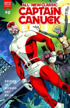 All-New Classic Captain Canuck #1