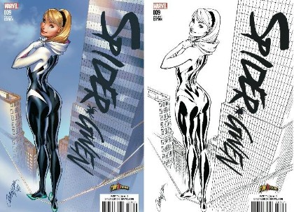 WIN 2 Spider-Gwen #9 Exclusives