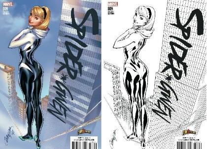 WIN 2 Spider-Gwen #9 Exclusives