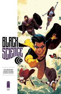 Black Science #28 Matteo Scalera