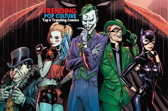 Top 5 Trending Comics This Week 2-19-20