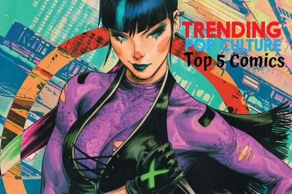 Top 5 Comics 4-1-20