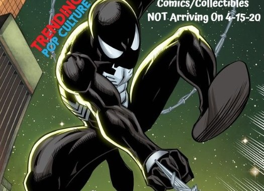 Comics/Collectibles NOT Arriving On 4-15-20