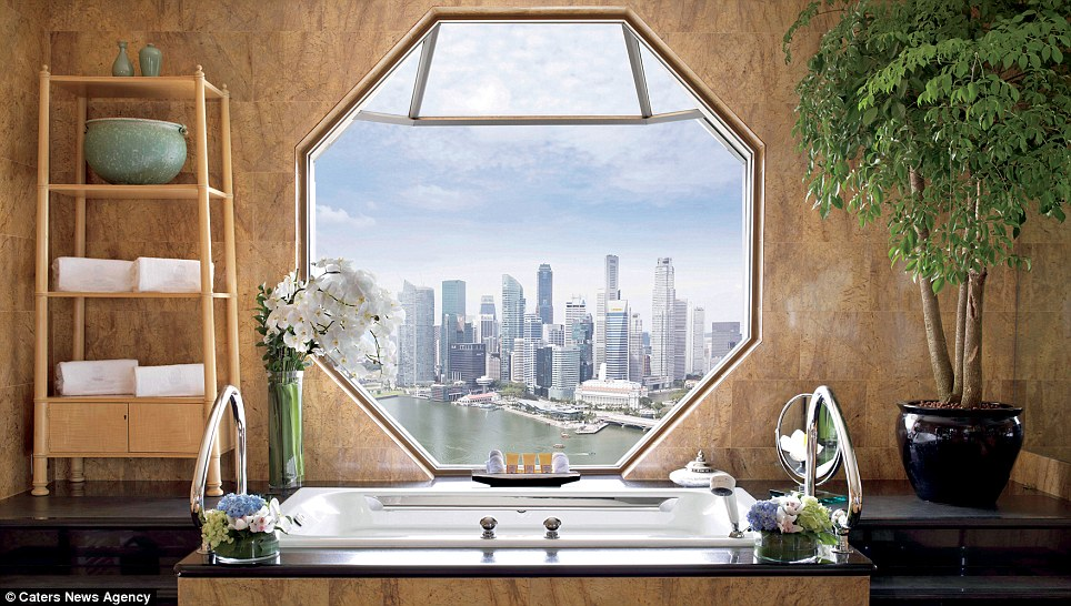 1.	Ritz-Carlton Suite at the Ritz-Carlton Singapore