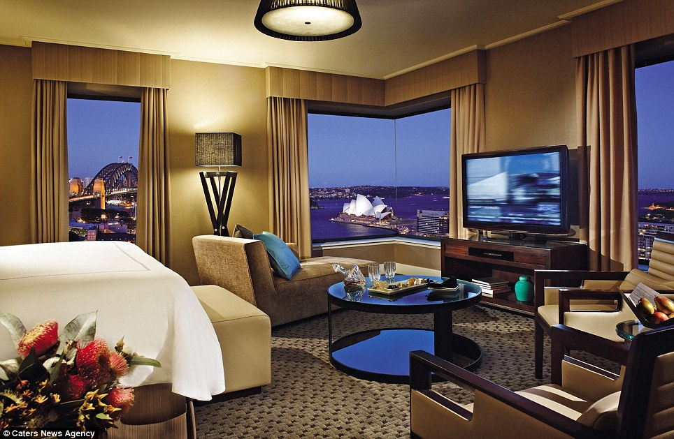 7.	Presidential Suite, Four Seasons, Sidney, Australia