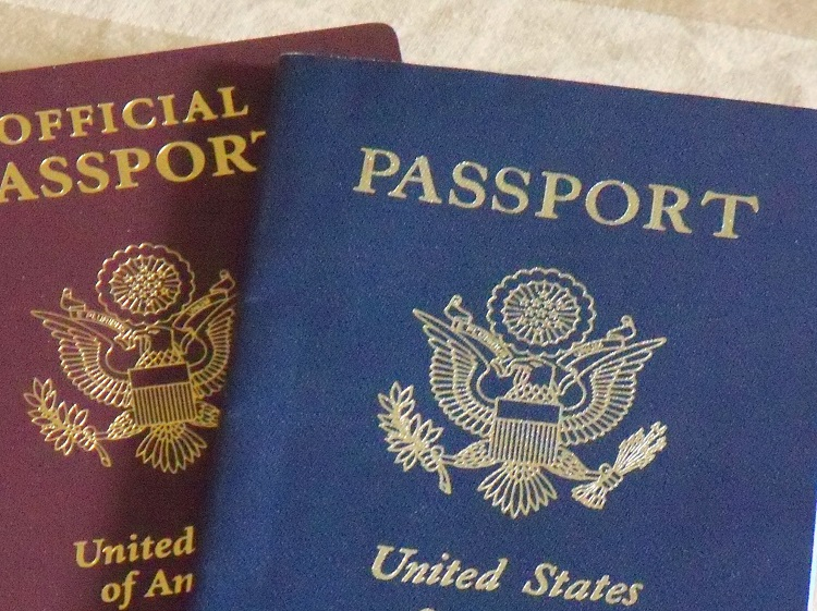 Passport any other travel documents