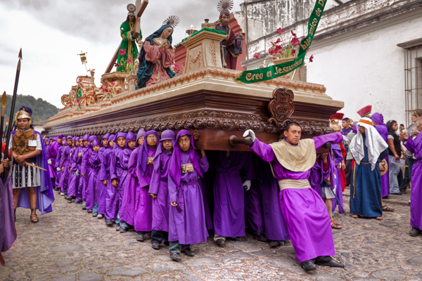 Semana Santa, Guatemala, multiple religious festivals throughout the year