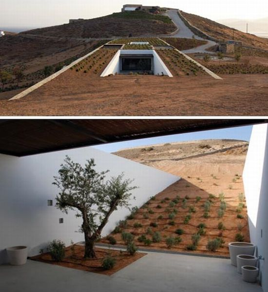 Stone Desert Home, Greece