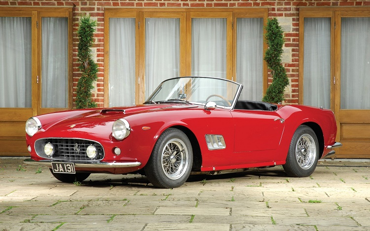 1961 Ferrari 250 GT SWB California Spyder ($10.9 million)