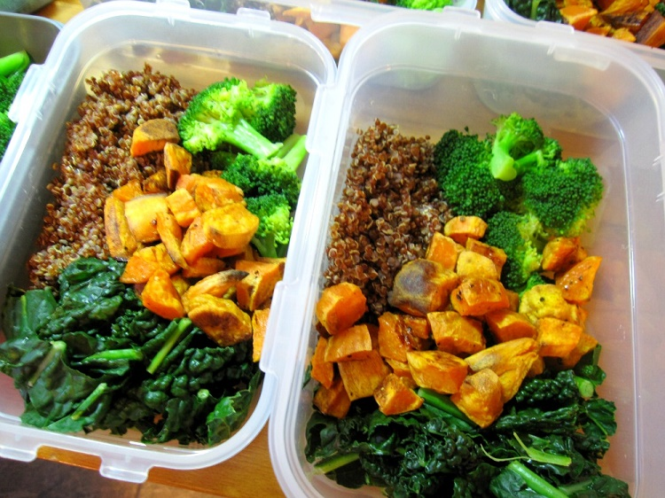 Cook meals in advance