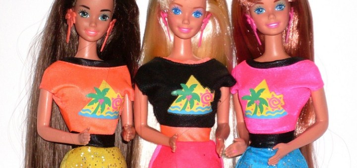 History of the most famous barbie dolls