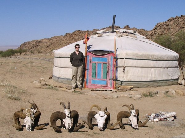 Mongolia, the country where you wouldn't have to worry about meeting your neighbors