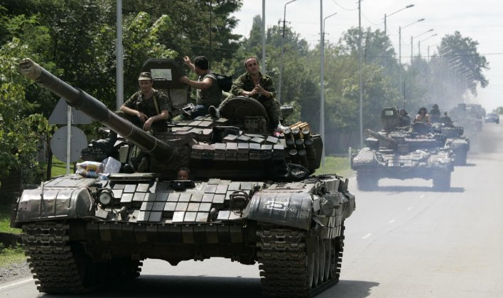Russia has the largest numbers of tanks