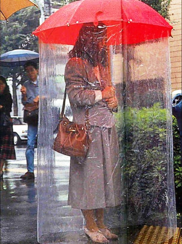 Super protective umbrella