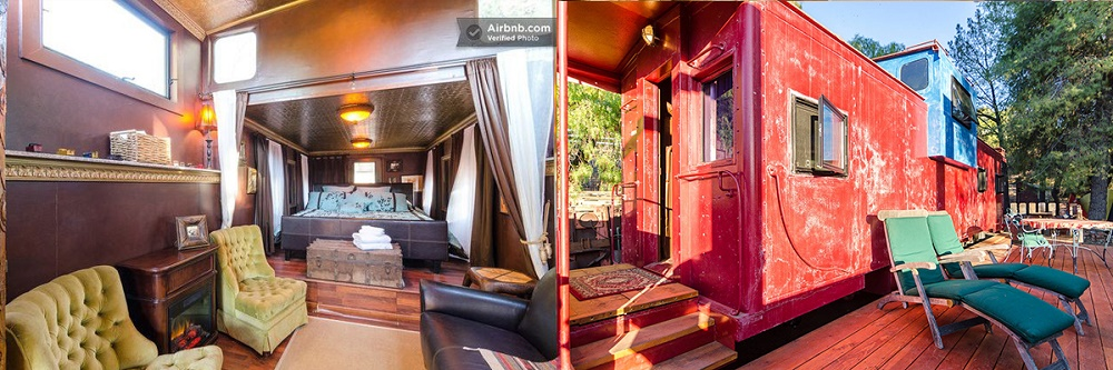 Your Own Private Train Caboose