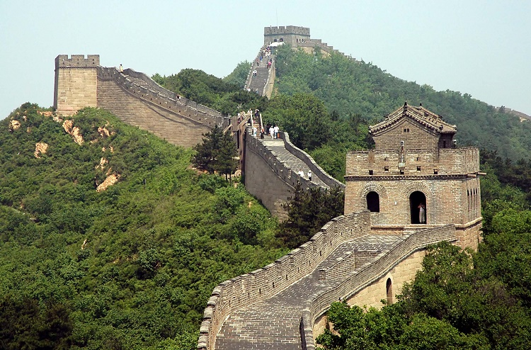 The Great Wall of China is the only man made structure visible from space