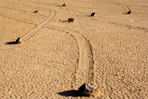 The History behind the death valley stones