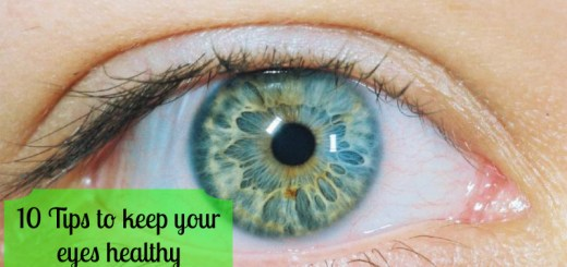 Tips to keep your eyes healthy