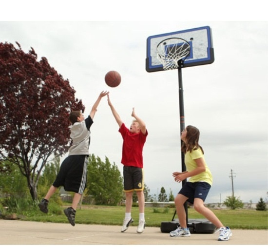 Shoot Hoops with your Kids after Dinner