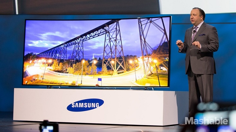 Watching anything on a curved screen would offers bigger perspective
