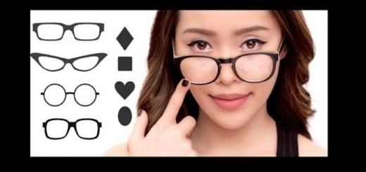 Choose glasses according to your face shape